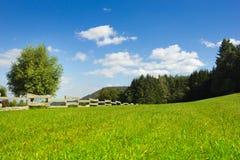 Φραγή στο λόφο - οριζόντιο Στοκ Εικόνα