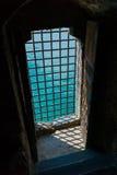 Φραγμένη πόρτα του Castle Στοκ φωτογραφία με δικαίωμα ελεύθερης χρήσης