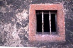 φραγμένο παράθυρο στοκ εικόνα