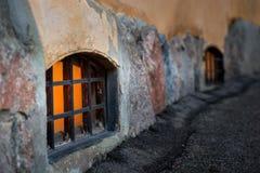 φραγμένο παράθυρο Στοκ Φωτογραφίες