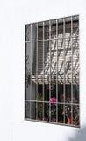 φραγμένο τυφλό παράθυρο της Ισπανίας Στοκ Εικόνα
