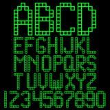 Φραγμοί αλφάβητου Στοκ Φωτογραφία