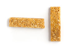 Φραγμοί δημητριακών Muesli Nutri, βρώμη, πρωτεϊνικοί φραγμοί Στοκ εικόνες με δικαίωμα ελεύθερης χρήσης