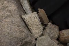 Φραγμοί και βράχοι Στοκ φωτογραφία με δικαίωμα ελεύθερης χρήσης