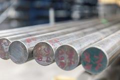 Φραγμοί μετάλλων στο σωρό Στοκ Εικόνα