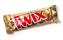 Φραγμοί μπισκότων Twix Στοκ φωτογραφία με δικαίωμα ελεύθερης χρήσης