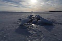 Φραγμοί πάγου Στοκ φωτογραφία με δικαίωμα ελεύθερης χρήσης
