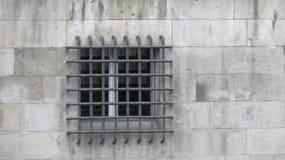 Φραγμοί παραθύρων στο φρούριο Στοκ Εικόνα