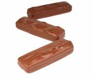 Φραγμοί σοκολάτας Στοκ Εικόνα