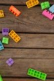 Φραγμοί στην ξύλινη σανίδα Στοκ φωτογραφίες με δικαίωμα ελεύθερης χρήσης