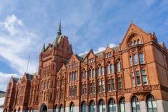 Φραγμοί του Χόλμπορν, επίσης γνωστοί ως συνετό κτήριο διαβεβαίωσης - Λονδίνο στοκ εικόνα
