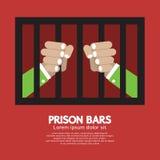 Φραγμοί φυλακών γραφικοί Στοκ φωτογραφία με δικαίωμα ελεύθερης χρήσης