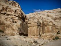 Φραγμοί Djinn χαμένη στην η Petra πόλη Στοκ φωτογραφία με δικαίωμα ελεύθερης χρήσης