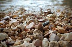 Φραγμός αμμοχάλικου στοκ εικόνες
