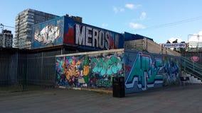 Φραγμός γκράφιτι Στοκ Εικόνες