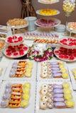Φραγμός καραμελών κέικ Στοκ Εικόνα