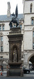 Φραγμός ναών Στοκ φωτογραφία με δικαίωμα ελεύθερης χρήσης