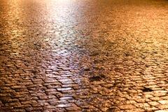 Φραγμός-πέτρινο τετράγωνο Στοκ Εικόνες