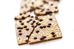 Φραγμός σοκολάτας Στοκ Εικόνα
