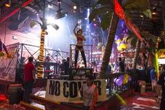 Φραγμός του Κονγκό σε Cancun Στοκ εικόνα με δικαίωμα ελεύθερης χρήσης