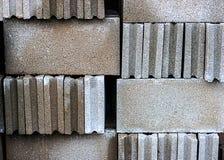 Φραγμός τούβλου σωρών Στοκ φωτογραφία με δικαίωμα ελεύθερης χρήσης