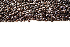 Φραγμός φασολιών καφέ Στοκ φωτογραφία με δικαίωμα ελεύθερης χρήσης