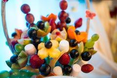 Φραγμός φρούτων Στοκ Φωτογραφία