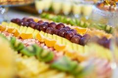 Φραγμός φρούτων στοκ εικόνες