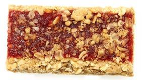 Φραγμός Granola φραουλών Στοκ εικόνες με δικαίωμα ελεύθερης χρήσης