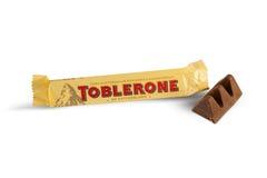 Φραγμός Toblerone Στοκ φωτογραφία με δικαίωμα ελεύθερης χρήσης