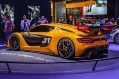 ΦΡΑΝΚΦΟΥΡΤΗ - Ο ΣΕΠΤΈΜΒΡΙΟΣ 2015: Αθλητισμός Ρ της Renault S η έννοια 01 παρουσίασε το α Στοκ Εικόνα