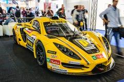 ΦΡΑΝΚΦΟΥΡΤΗ - Ο ΣΕΠΤΈΜΒΡΙΟΣ 2015: ΑΜΑΡΤΙΑ R1 GT4 που παρουσιάζεται σε IAA διεθνές Στοκ Εικόνα