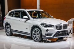 ΦΡΑΝΚΦΟΥΡΤΗ - Ο ΣΕΠΤΈΜΒΡΙΟΣ 2015: BMW X1 xDrive25i που παρουσιάζεται σε IAA Στοκ εικόνες με δικαίωμα ελεύθερης χρήσης