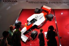 ΦΡΑΝΚΦΟΥΡΤΗ - 14 ΤΟΥ ΣΕΠΤΕΜΒΡΊΟΥ: Τύπος της Honda που παρουσιάζεται ως παγκόσμια πρεμιέρα α Στοκ εικόνα με δικαίωμα ελεύθερης χρήσης