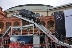 ΦΡΑΝΚΦΟΥΡΤΗ - 14 ΤΟΥ ΣΕΠΤΕΜΒΡΊΟΥ: Benz της Mercedes γ-κατηγορία AMG V8 που παρουσιάζεται ως W Στοκ εικόνες με δικαίωμα ελεύθερης χρήσης