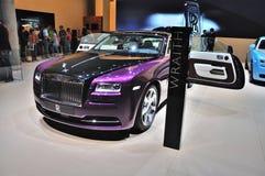 ΦΡΑΝΚΦΟΥΡΤΗ - 14 ΤΟΥ ΣΕΠΤΕΜΒΡΊΟΥ: Rolls-$l*royce Wraith που παρουσιάζεται ως παγκόσμιο premi Στοκ Εικόνες