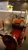 ΦΡΑΝΚΦΟΥΡΤΗ - ΤΟ ΣΕΠΤΈΜΒΡΙΟ ΤΟΥ 2014: Τερματικό πρώτης θέσης - καπνισμένος η Πάρμα κόπτης ζαμπόν Στοκ Εικόνες