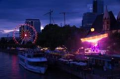 Φρανκφούρτη Αμ Μάιν Mainfest Στοκ Φωτογραφίες