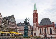Φρανκφούρτη Γερμανία romerberg Στοκ φωτογραφίες με δικαίωμα ελεύθερης χρήσης