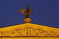 Φρανκφούρτη - παλαιά Όπερα (στέγη) Στοκ Εικόνες