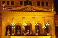 Φρανκφούρτη - παλαιά Όπερα (στοά) Στοκ Φωτογραφία