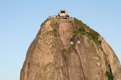 Φραντζόλα ζάχαρης του Ρίο στοκ εικόνες