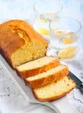 Φραντζόλα κέικ καρύδων στοκ εικόνα με δικαίωμα ελεύθερης χρήσης
