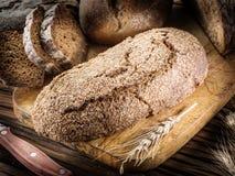 Φραντζόλα σίκαλη-ψωμιού στοκ εικόνες