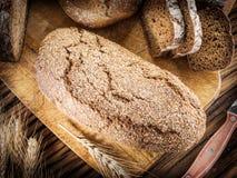 Φραντζόλα σίκαλη-ψωμιού στοκ φωτογραφία