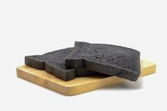 Φραντζόλα του ψωμιού ξυλάνθρακα Στοκ Φωτογραφίες