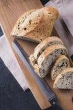 φραντζόλα ψωμιού που τεμα στοκ εικόνες με δικαίωμα ελεύθερης χρήσης
