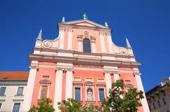 Φραντσησθανή εκκλησία Annunciation Στοκ φωτογραφία με δικαίωμα ελεύθερης χρήσης
