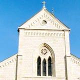 Φραντσησθανή εκκλησία Jaffa του αετώματος 2011 του ST Anthony Στοκ φωτογραφία με δικαίωμα ελεύθερης χρήσης