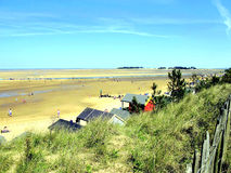 Φρεάτια έπειτα η θάλασσα, Norfolk. Στοκ φωτογραφία με δικαίωμα ελεύθερης χρήσης